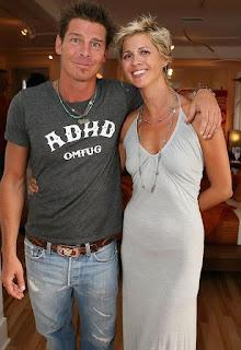 Andrea Bock with her boyfriend Ty Pennington