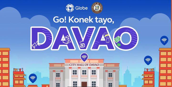 Globe's KonekTayo WiFi, GoWiFi to power up Davao City