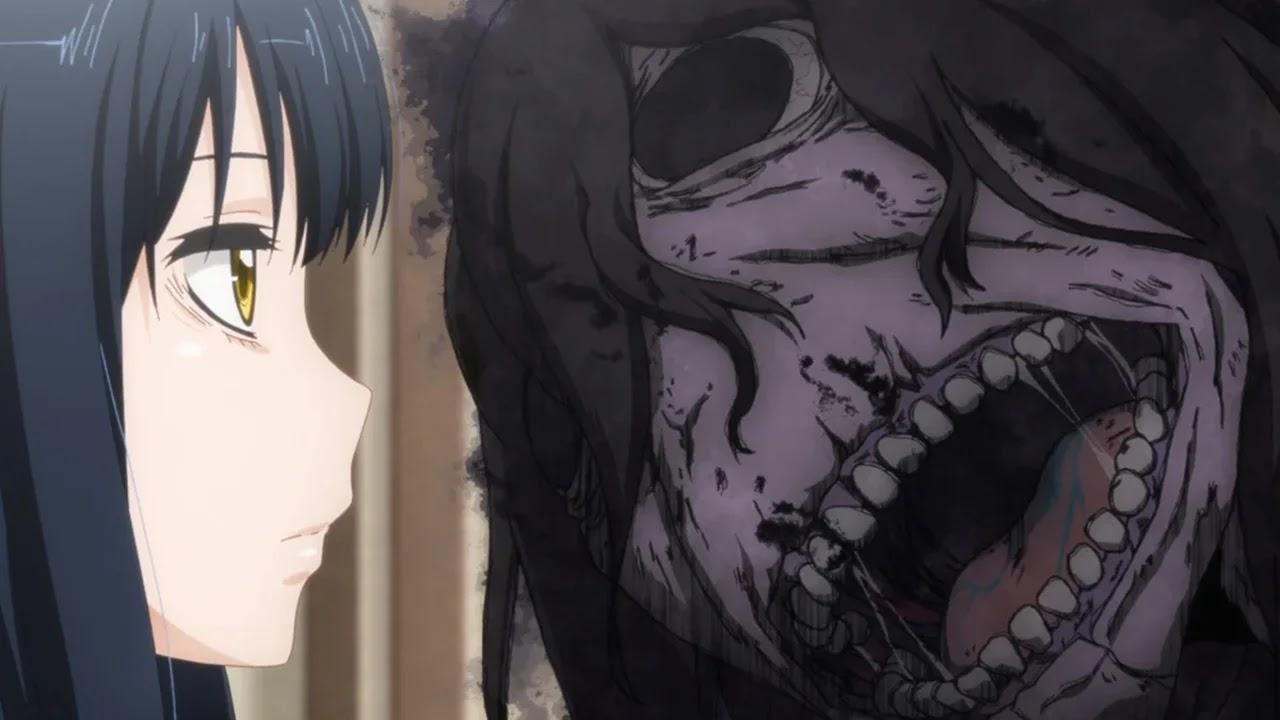 Anime Mieruko-chan revelou uma nova imagem promocional