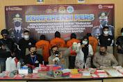 Satresnarkoba Polres Serang Berhasil Ungkap Pabrik Tembakau Gorila dan Liquid