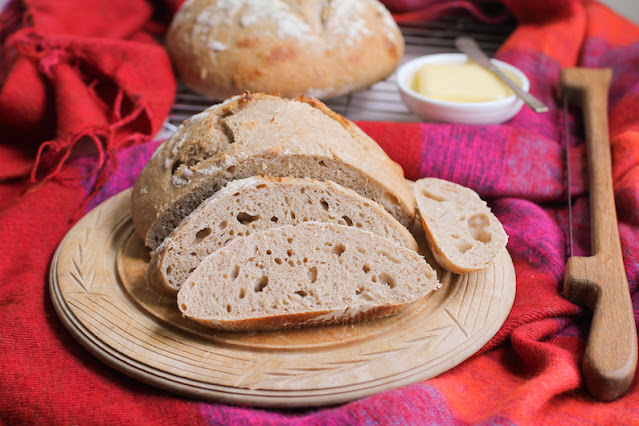 Food Lust People Love: This Sourdough Tangzhong Bread is flavorful with a wonderful texture, perfect for eating on its own or toasted with butter and jam. Start a day or two ahead of when you want to bake for the best flavor.