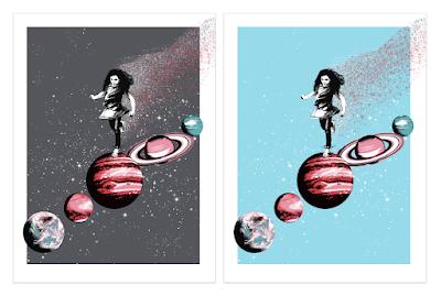 Hopscotch Screen Print by Ubik x Bottleneck Gallery