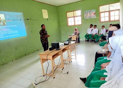 MAS Alfalah Simpang Tiga Pidie Adakan Pelatihan Kepemimpinan