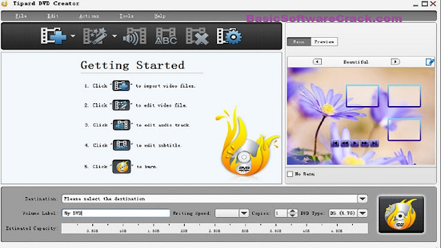 Tipard DVD Creator 5.2.68 [x86 x64] incl Patch With Key