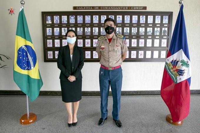 Internacional: Embaixadora do Haiti visita o Quartel do Comando Geral