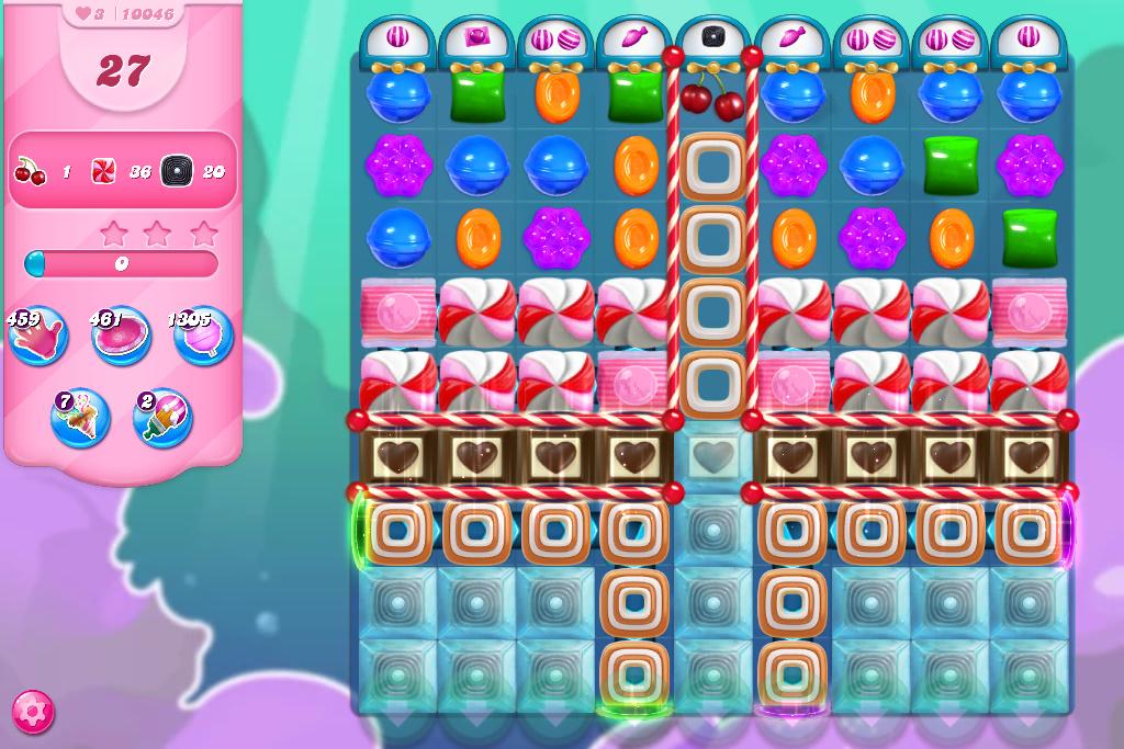 Candy Crush Saga level 10046