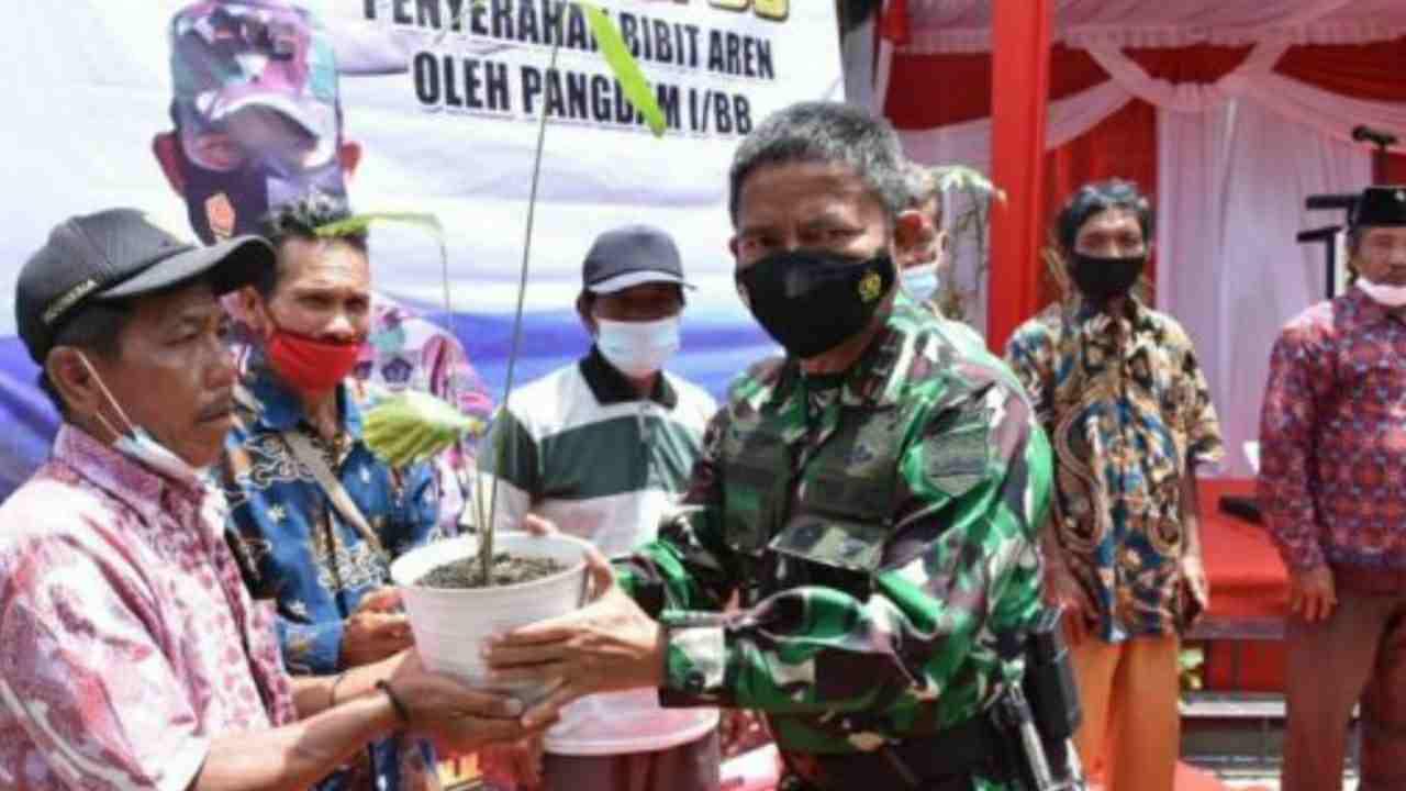 Kodam I/BB Gelar Aksi Nyata Reforestasi Kawasan Danau Toba
