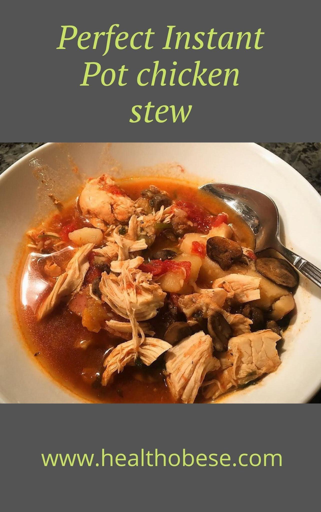 Perfect Instant Pot chicken stew
