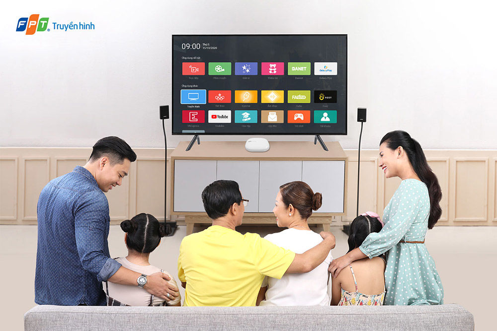 Truyền hình FPT - Dịch vụ truyền hình tương tác