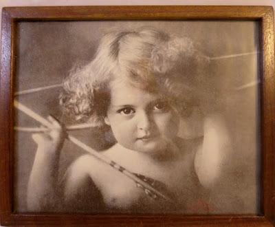 Antique 1912 Cupid print
