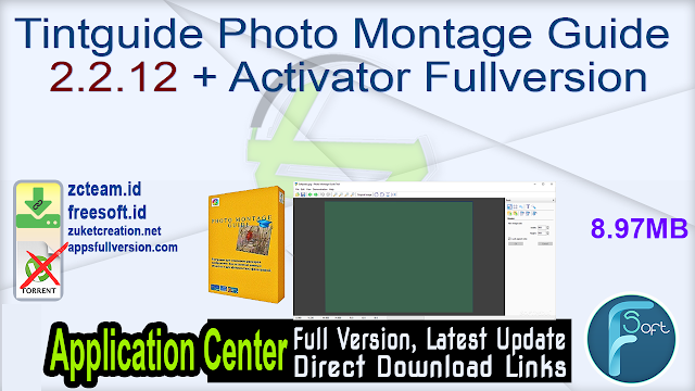 Tintguide Photo Montage Guide 2.2.12 + Activator Fullversion