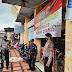 Anggota Samapta Polres Ciamis Melaksanakan Pengamanan Posko PPKM Mikro Level 3 di Wilayah Kabupaten Ciamis