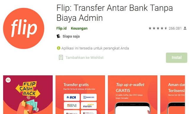 aplikasi transfer antar bank tanpa admin
