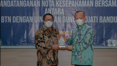 UIN Bandung-BTN Jalin Kerjasama untuk Sejahterakan Umat