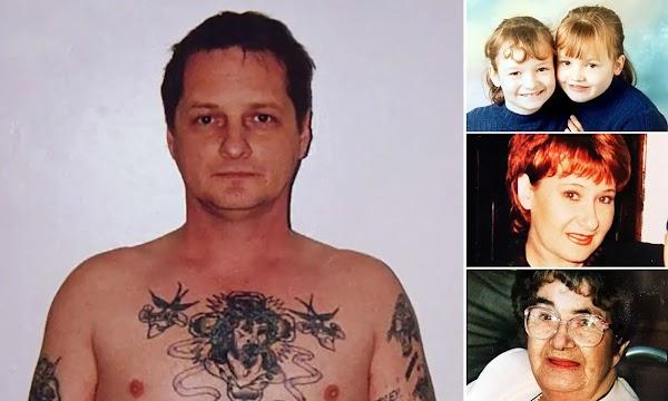 Brutal murderer David Morris who killed three generations of same family dies in prison