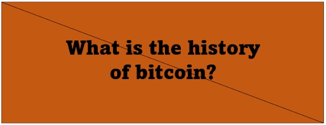 What is the history of bitcoin?