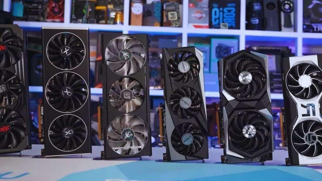 precios de las tarjetas gráficas Nvidia y AMD