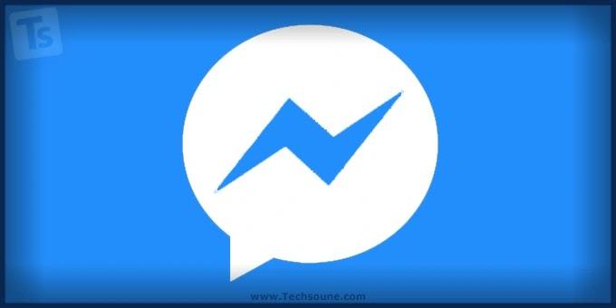 شكل تطبيق فيسبوك Messenger