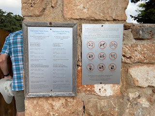 Gouverneto Monastery - opening times and dos and don'ts.