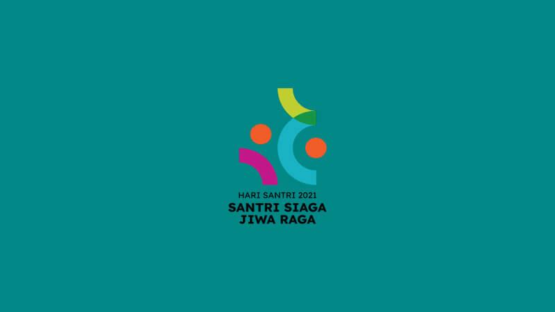 logo hari santri 2021