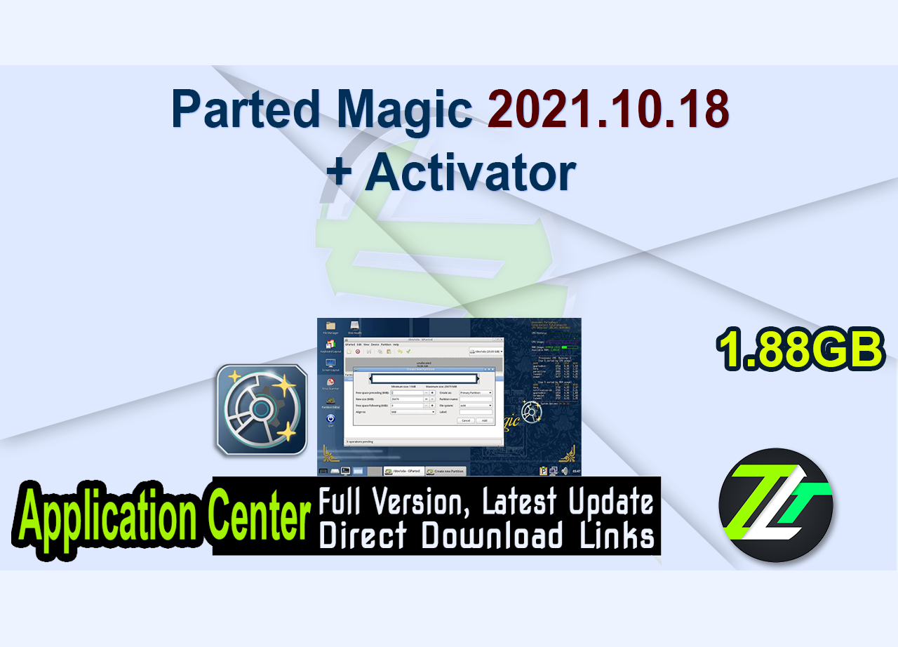 Parted Magic 2021.10.18 + Activator
