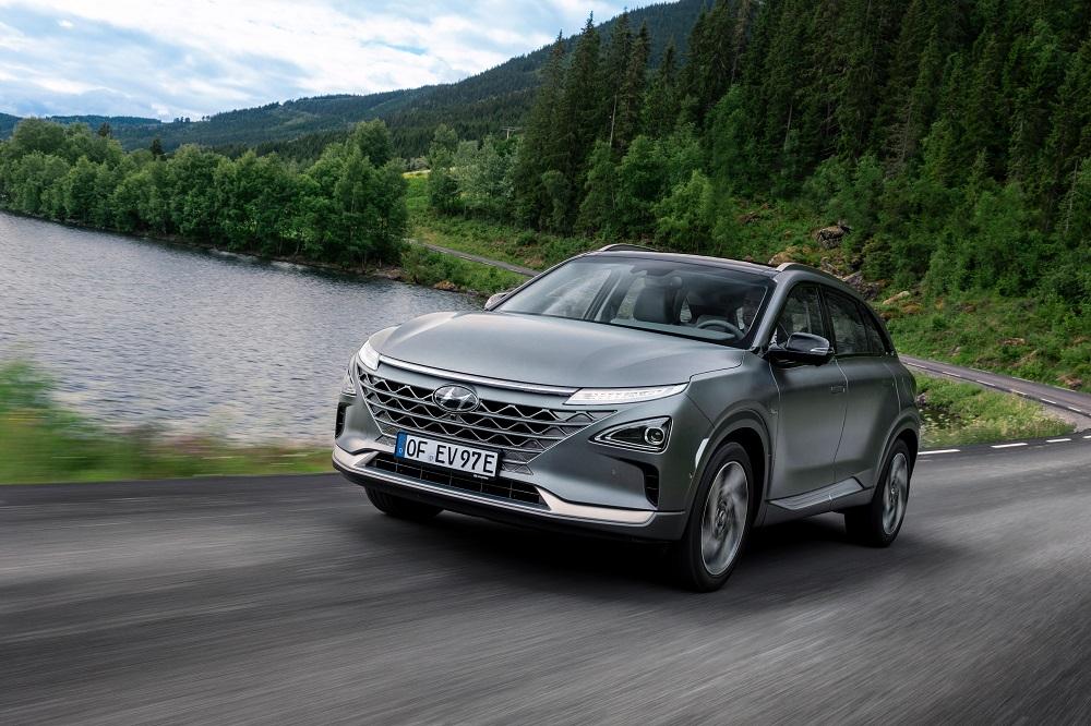 Hyundai Nexo sales in Europe exceed 1,000 units