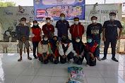 PWI Kota Serang Bersama Gerakan Mahasiswa UNBAJA dan PMR SMK Negeri 5 Kota Serang Gelar Baksos dan Lapak Baca