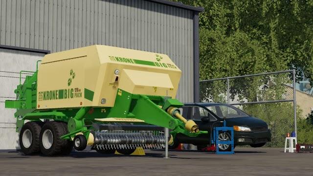 FS19 Krone Big Pack 120-80 v1.0