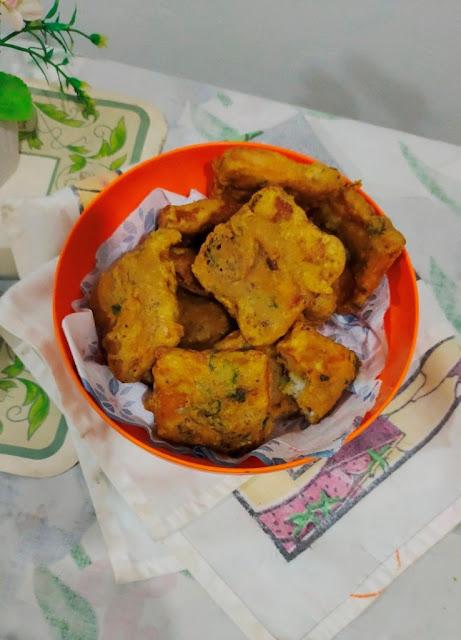 bread fritters recipe