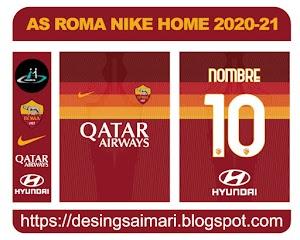 AS Roma Nike Home 2020-21 FREE DOWNLOAD