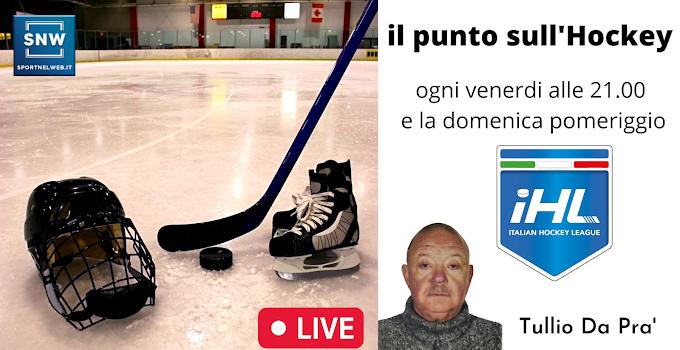 Il punto sull'Hockey Ghiaccio.A cura di Tullio Da Pra'