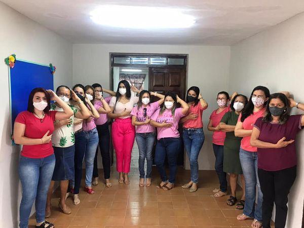 Prefeitura de Governador leva palestras da campanha Outubro Rosa a mais sete secretarias