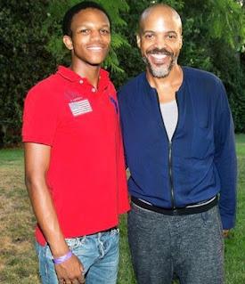 Van Hunt with his son Drake