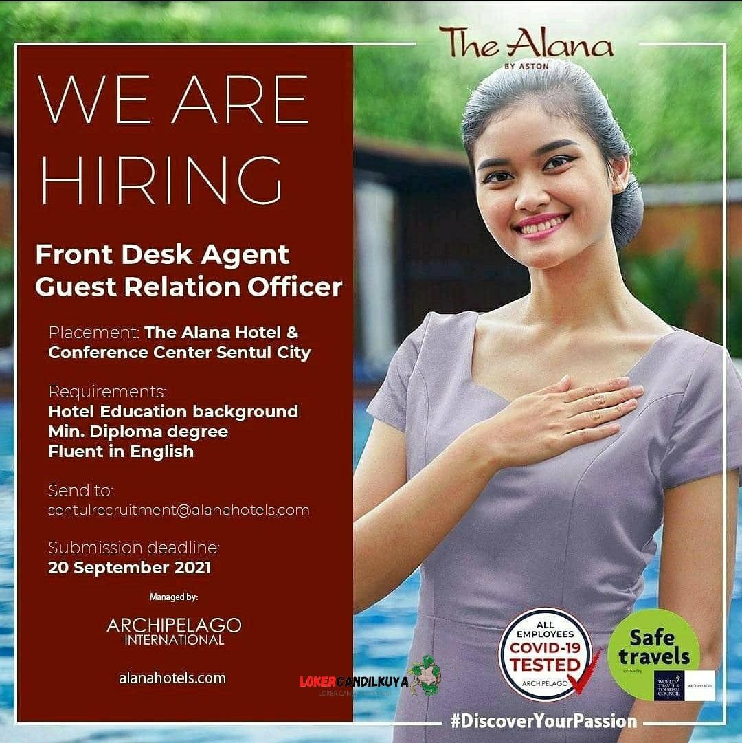 Lowongan Kerja The Alana Hotel Sentul City