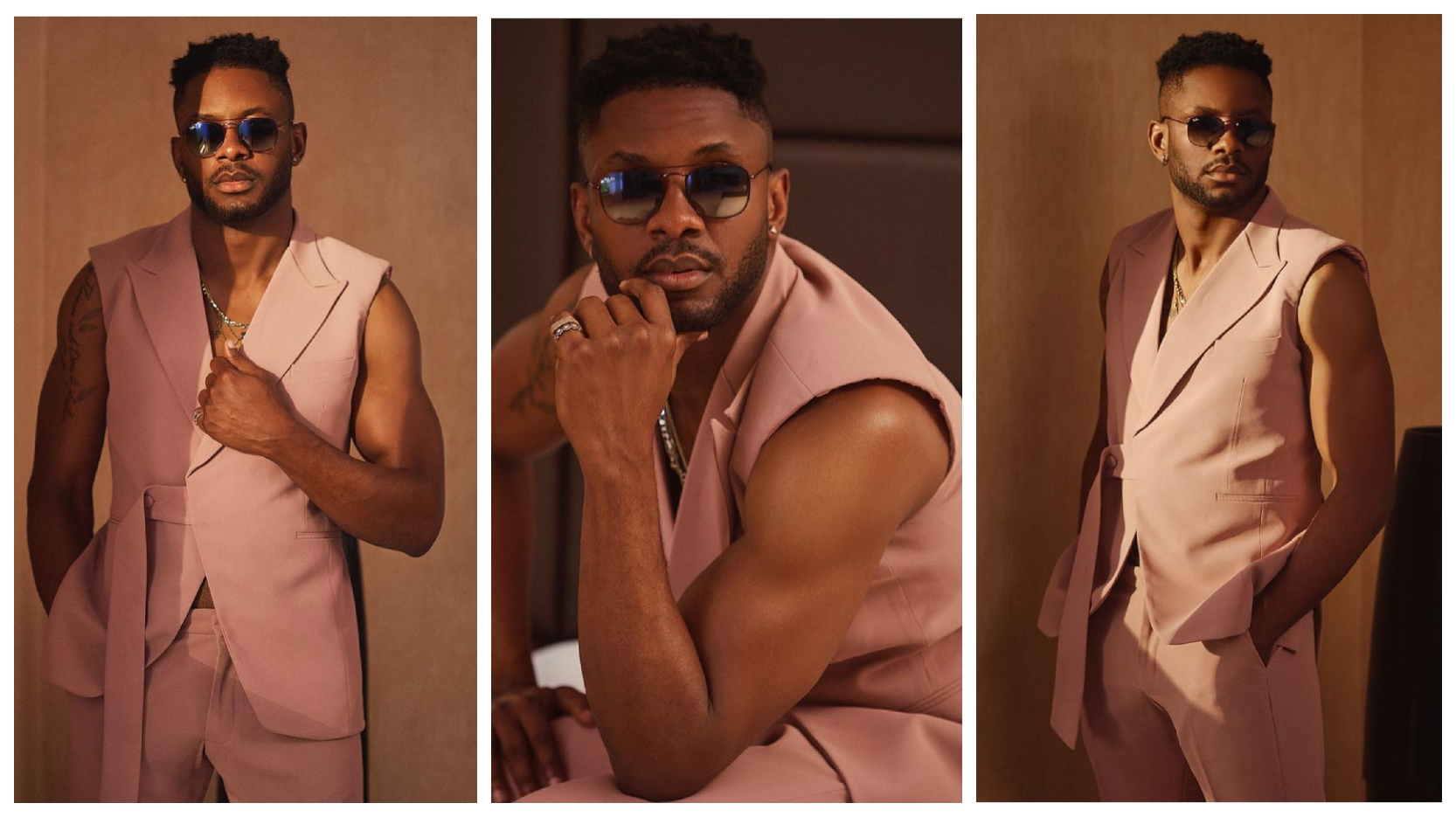 BBNaija: Cross flaunts his cuteness in lovely new photos, drops a question for his fans ( See pictures)
