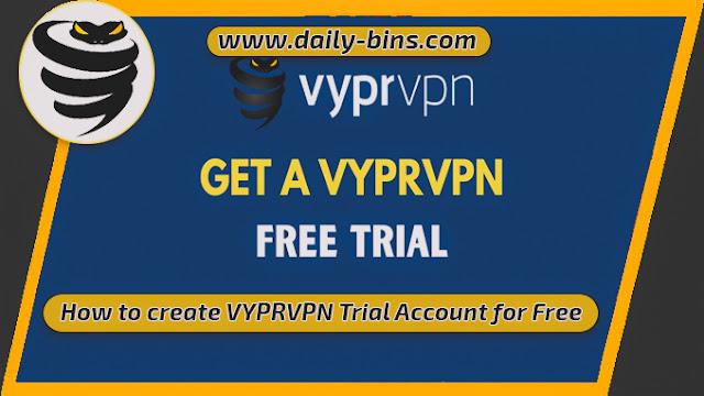 كيفية إنشاء حساب تجريبي لـ VYPRVPN مجانًا