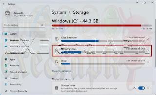 توفير مساحة تخزين إضافية في ويندوز 11