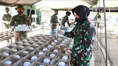Totalitas Bekangdam I Bukit Barisan Dukung Latihan YTP R-100 PS