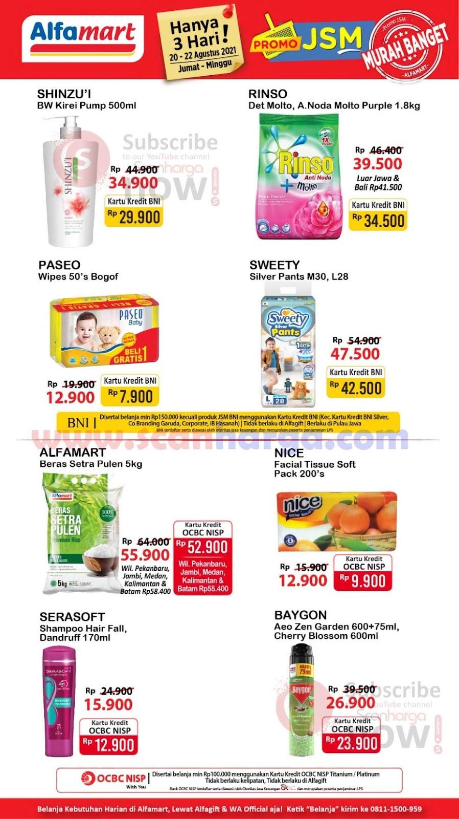 Katalog Promo JSM Alfamart Weekend 20 - 22 Agustus 2021 3