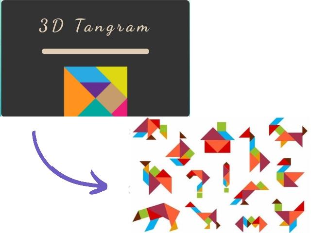 games 3D tangram