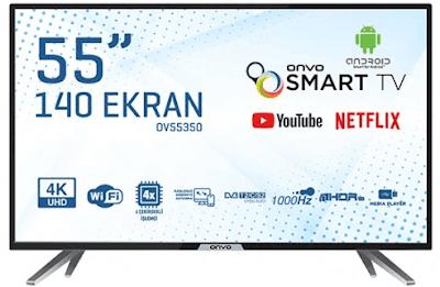 onvo 55 inç tv