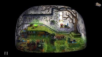 Rain City Video Game Screenshot