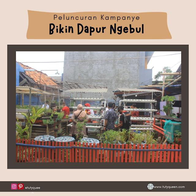 Kebun Pangan Komunitas (KEPAK) FOI Kembangan, Jakarta Barat.