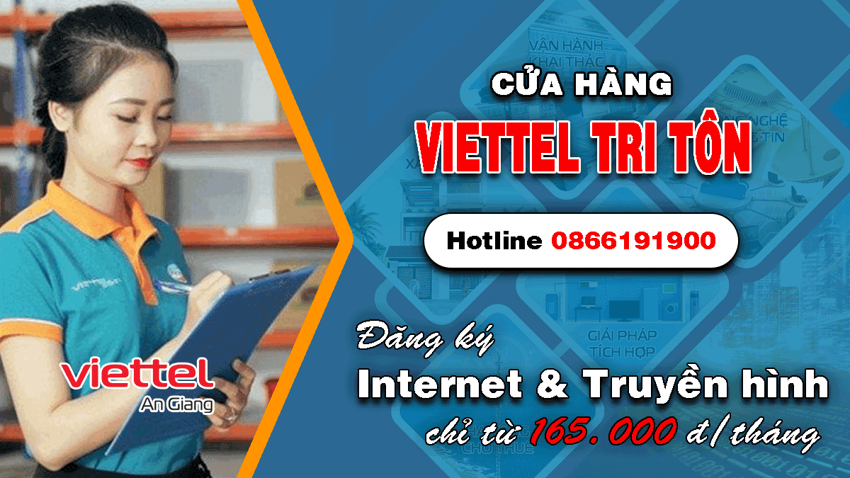 Cửa hàng Viettel Tri Tôn An Giang