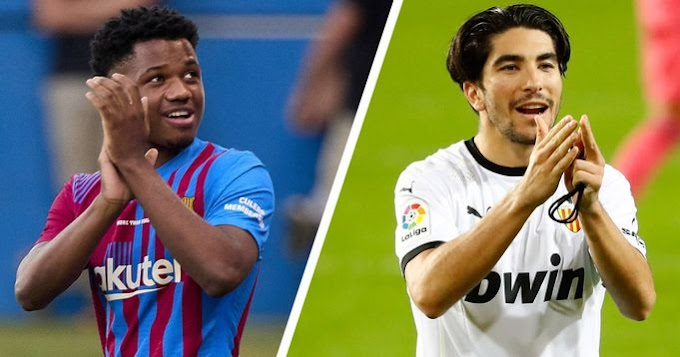 Barca 3-1 Valencia: Goals from Fati, Memphis and Coutinho revives Barcelona in la liga