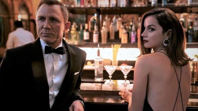 Daniel Craig y Ana de Armas. Imagen de MGM.