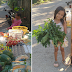Batang Babae, Nag-Donate ng Gulay sa Isang Community Pantry sa Kanilang Lugar Matapos na Makatanggap ng Biscuit!