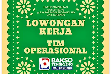 Loker Bandung Karyawan Bakso Tengkleng Bandung