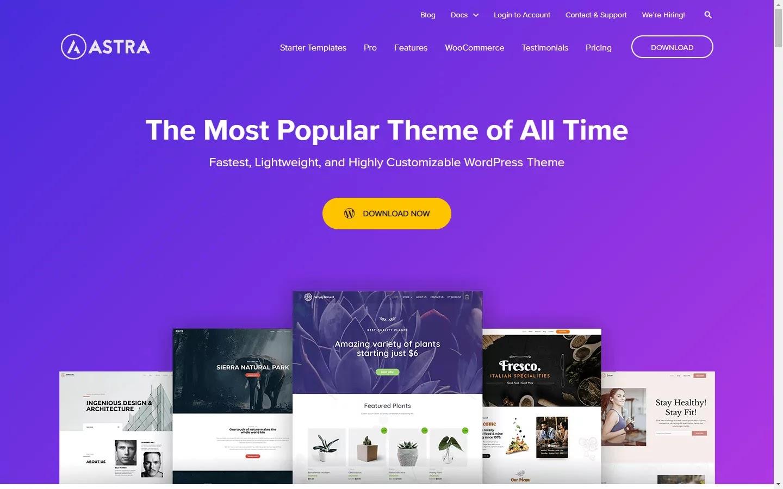 Astra WordPress Themes