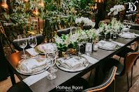 casamento mini-wedding em porto alegre realizado no restaurante le bistrot gourmet com decoração elegante clássica minialista em preto prata e branco por fernanda dutra eventos cerimonialista em porto alegre